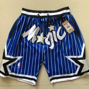 NWT🌀Just Don🌀 NBA Orlando Magic Blue 🌀Shorts🌀